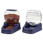 Dog Feeder and Waterer Dish - Petite